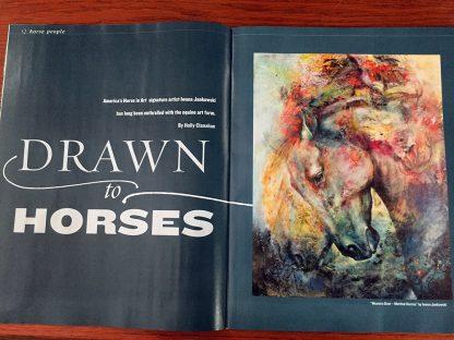 America's Horse Magazine articule 2016
