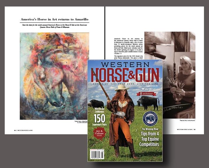 Western Horse & Gun magazine article